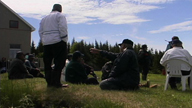 Elders organize the next return to the territory