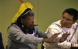 Kayapo chief Raoni explains his political approach to the Unaman-shipu chief