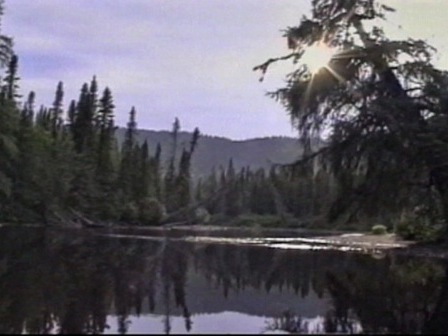 Paysage sur la rivière Minai-nipi