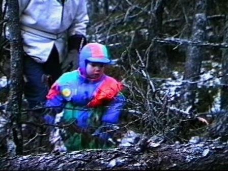 Messenak Bellefleur, en forêt, fait pour la première fois de sa vie une rencontre avec la mort et il a peur